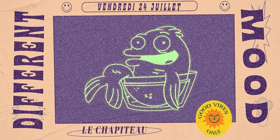 Different Mood at Le Chapiteau