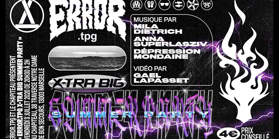 Error.tpg Xtra BIG Summer PARTY