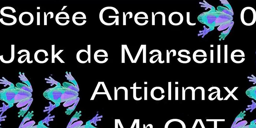 ✹ Soirée des DJs de la Grenouille ✹