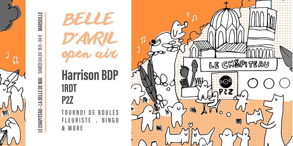 Belle d'avril Open Air - Harrison BDP, 1RDT & P2Z