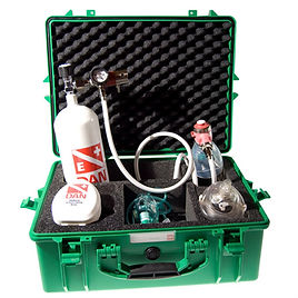 Noodzuurstof noodzuurstofverlener zuurstofkoffer ehbo cursus bhv