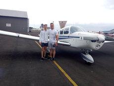 The start of a pilots dream