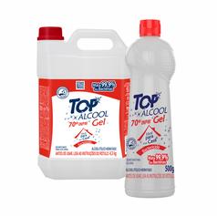 Top Álcool 70º Gel Bactericida