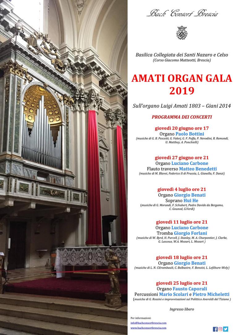 Amati Organ Gala 2019