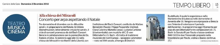 Corriere della Sera 2018