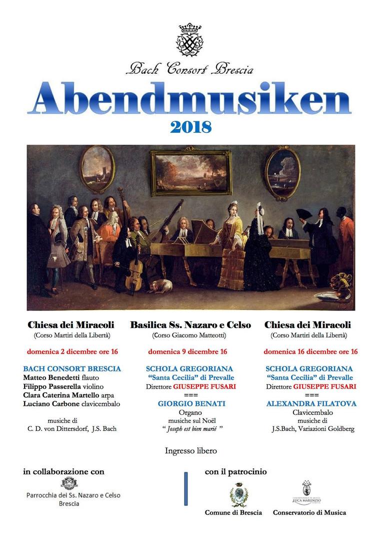 Abendmusiken; dicembre 2018