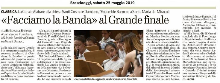 Bresciaoggi 2019