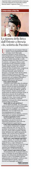 Corriere della Sera, 4 luglio 2019