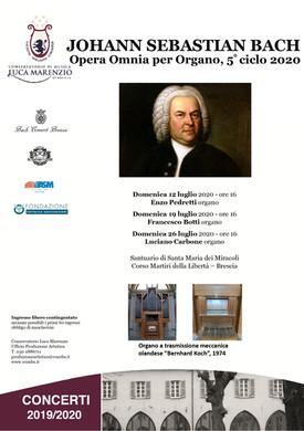 Opera Omnia Organistica J.S. Bach