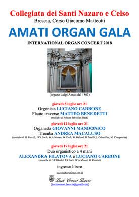 Organ Gala 2018