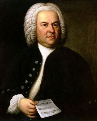 Johann Sebastian Bach del pittore Elias