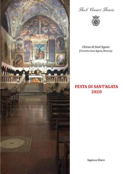 Sant'Agata inedita 2020