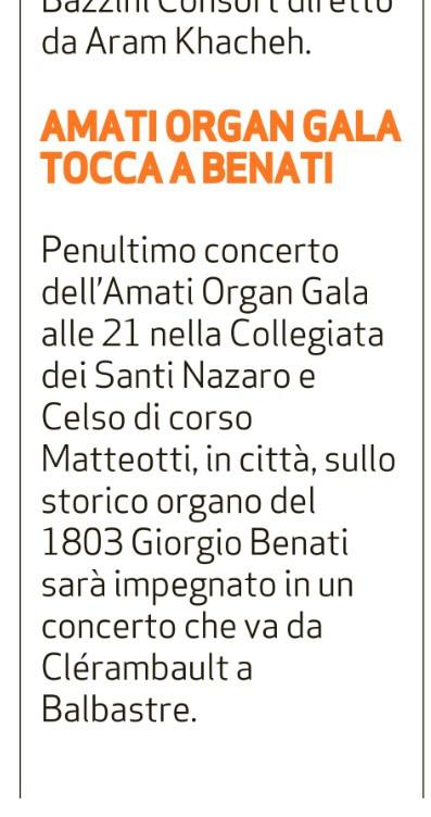Bresciaoggi, 18 luglio 2019