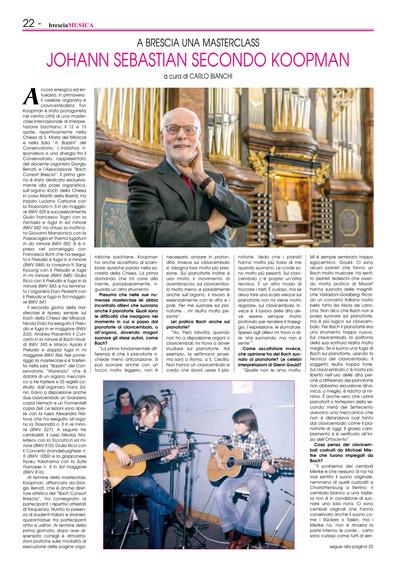Brescia Musica, giugno 2019