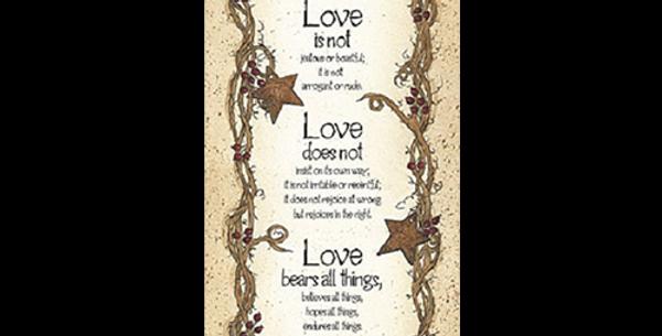 Love is Patient - 20523