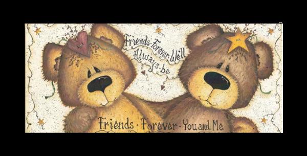 Friends Forever Bears - L-30S