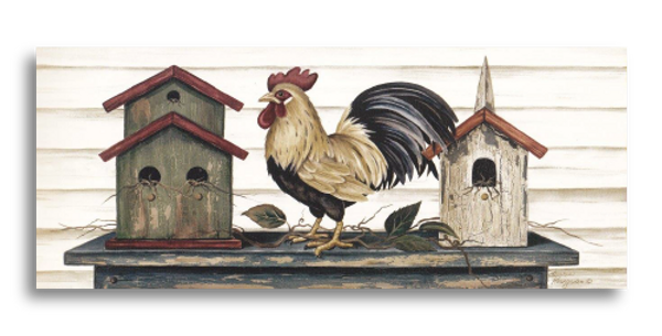 Rooster Facing Left - L-02S