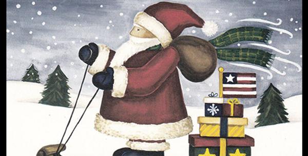Sledding-Santa - A-11