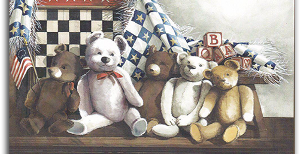 Teddy Bear Friends - A-18