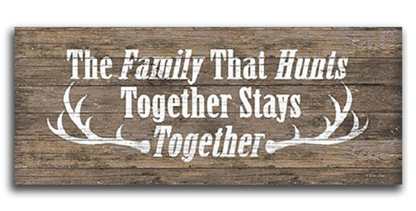 The Family That Hunts - 20431