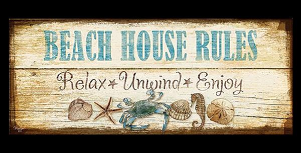 Beach House Rules - 20445