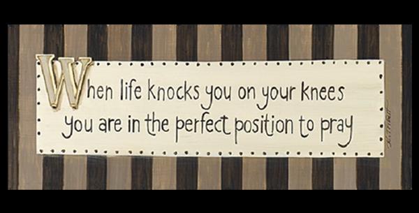 When Life Knocks - 20544