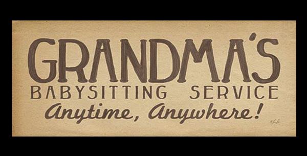 Grandma's Babysittin' - 20404