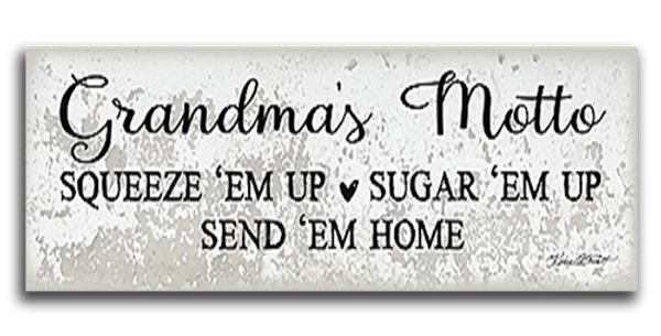 Grandma's Motto - 20511