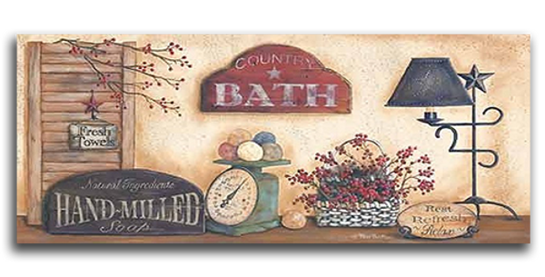 Country Bath - 20458