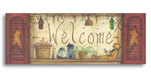 Welcome Window - L-45S