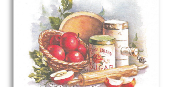 Apples and Rolling Pin - C-60M