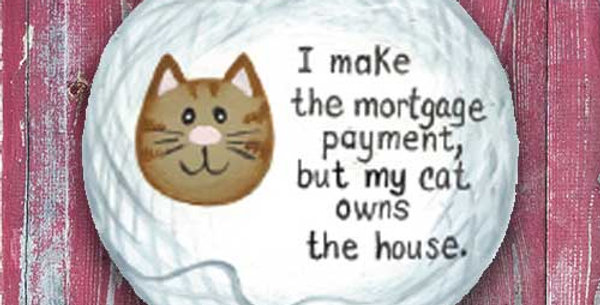 Mortgage Cat - WD1386