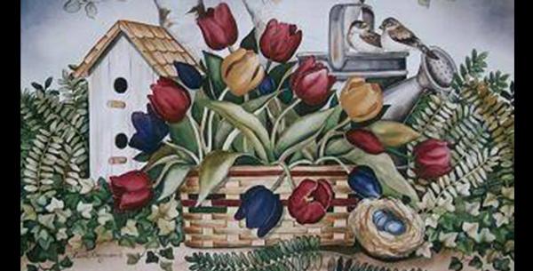 Tulip Basket - A-04