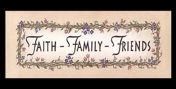 Faith Family Friends - 20402