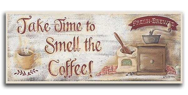 Smell the Coffee - 20440