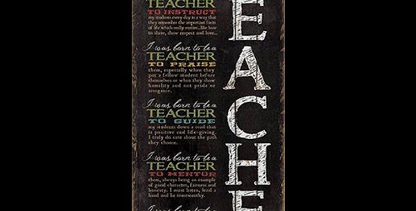 Born to be a Teacher - 20465