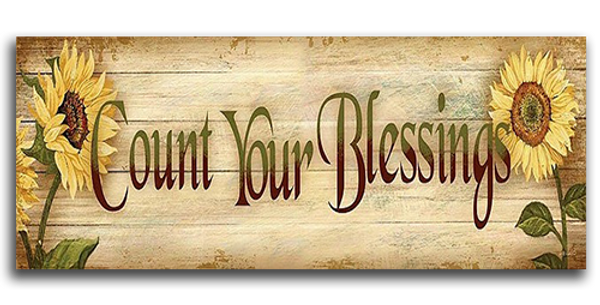 Count Your Blessings - 20537