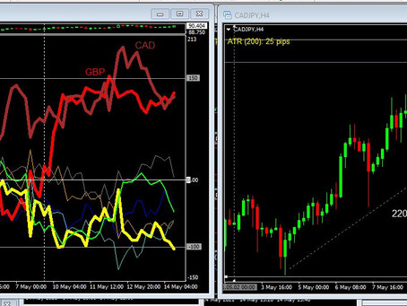 May G8 Forex Action