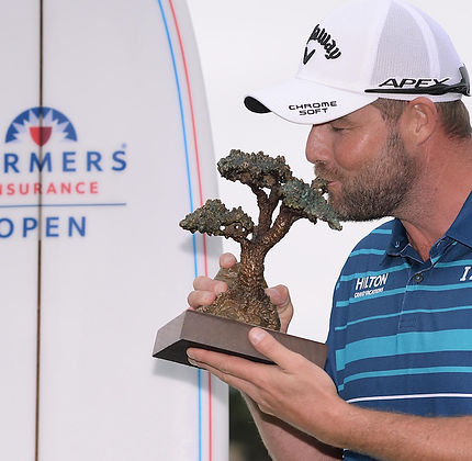 TAGG 200 GREATEST GOLFERS - MARC LEISHMAN - 2020 FARMERS INSURANCE OPEN - WINNER