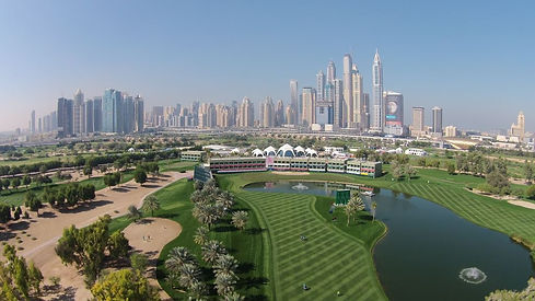 EURO TOUR -EMIRATES GC - DUBAI DESERT CLASSIC  - TAGG 200 Greatest Courses
