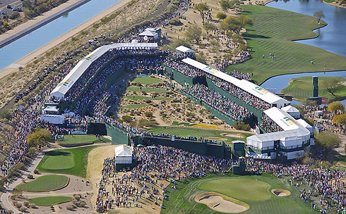 US TOUR - TPC SCOTTSDALE, PHOENIX OPEN - TAGG 200 Greatest Golfers