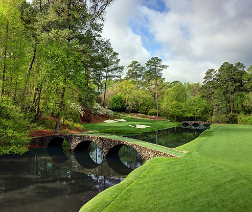 US TOUR - TAGG 200 Greatest Golfers & Courses - AUGUSTA NATIONAL