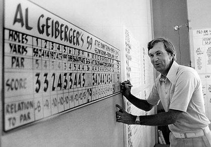 GREATEST GOLFERS - AL GEIBERGER - BIRTHDAY : 1 SEPTEMBER - TAGG 200
