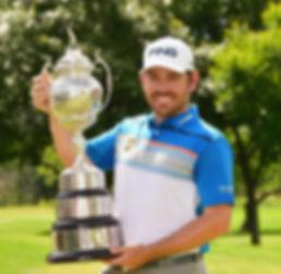 TAGG 200 GREATEST GOLFERS - LOUIS OOSTHUIZEN - DEC 2018 SOUTH AFRICAN OPEN - WINNER