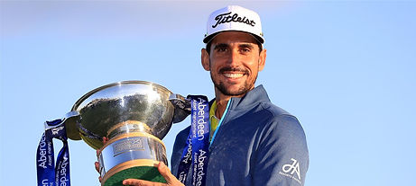 TAGG 200 GREATEST GOLFERS - RAFAEL CABRERA-BELLO - 2017 AAM SCOTTISH OPEN WINNER
