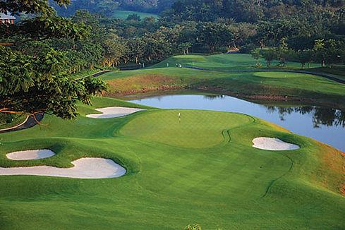 EURO TOUR - GENZON GC, SHENZHEN INTERN. - TAGG 200 Greatest Golfers