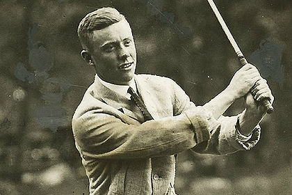 GREATEST GOLFERS - CHICK EVANS - BIRTHDAY : 18 JULY - TAGG 200