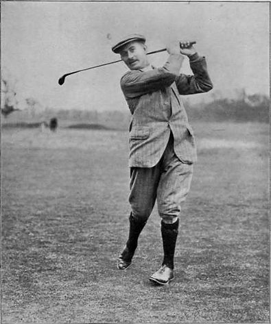 GREATEST GOLFERS - HARRY VARDON - BIRTHDAY : 9 MAY - TAGG 200