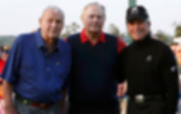 THE BIG THREE - GREATEST GOLFERS - ARNOLD PALMER - JACK NICKLAUS - GARY PLAYER - TAGG 200 - SENIORS - CHAMPIONS TOUR