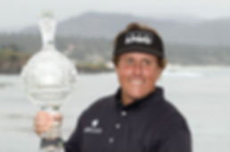TAGG 200 GREATEST GOLFERS - PHIL MICKELSON - 2019 AT&T PEBBLE BEACH PRO-AM - WINNER